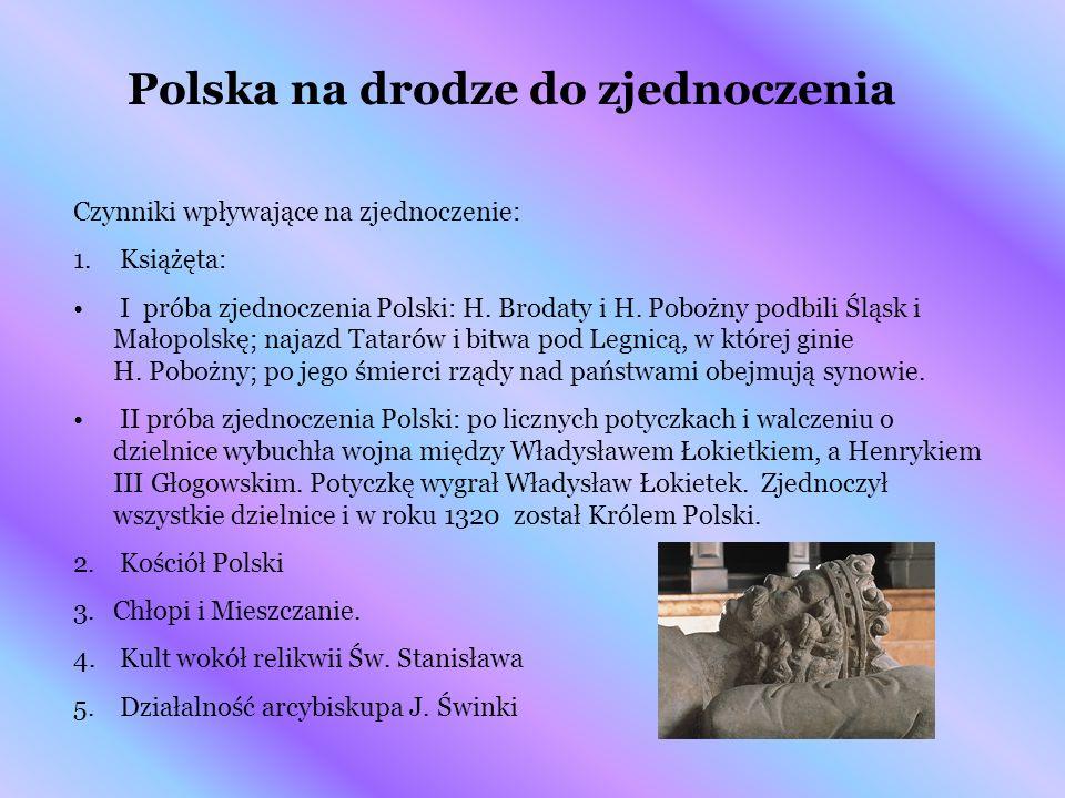 Polska na drodze do zjednoczenia