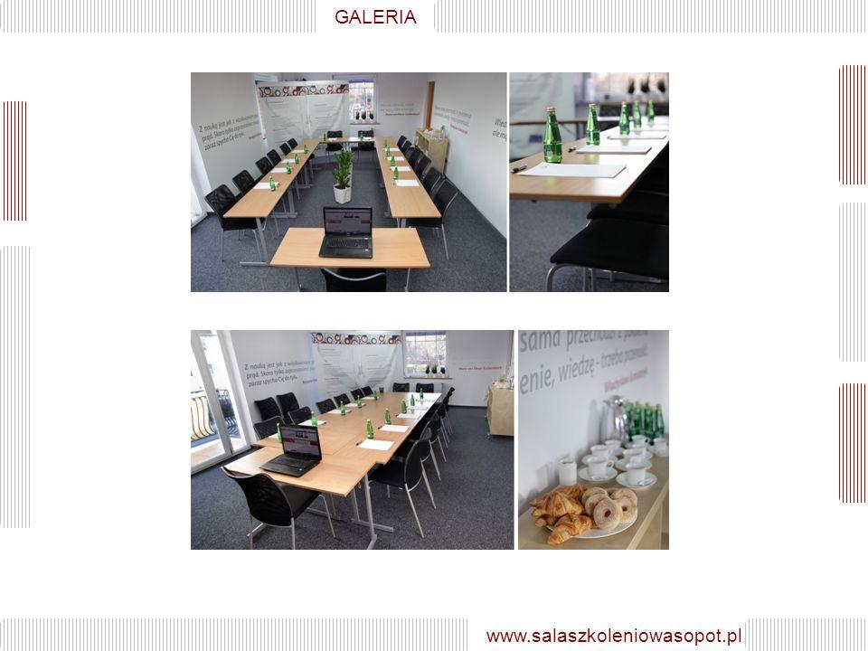 GALERIA GALERIA www.salaszkoleniowasopot.pl