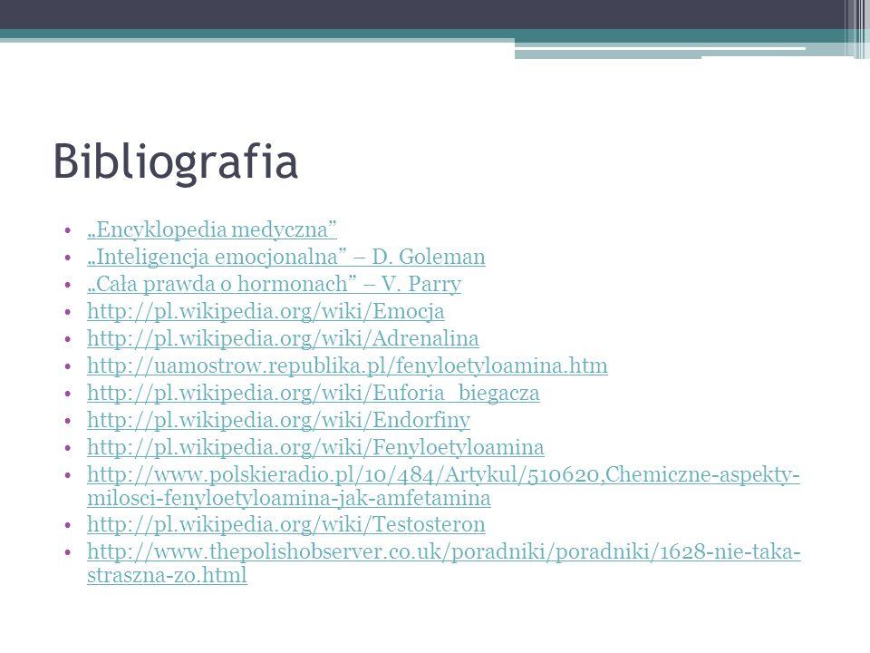 """Bibliografia """"Encyklopedia medyczna"""