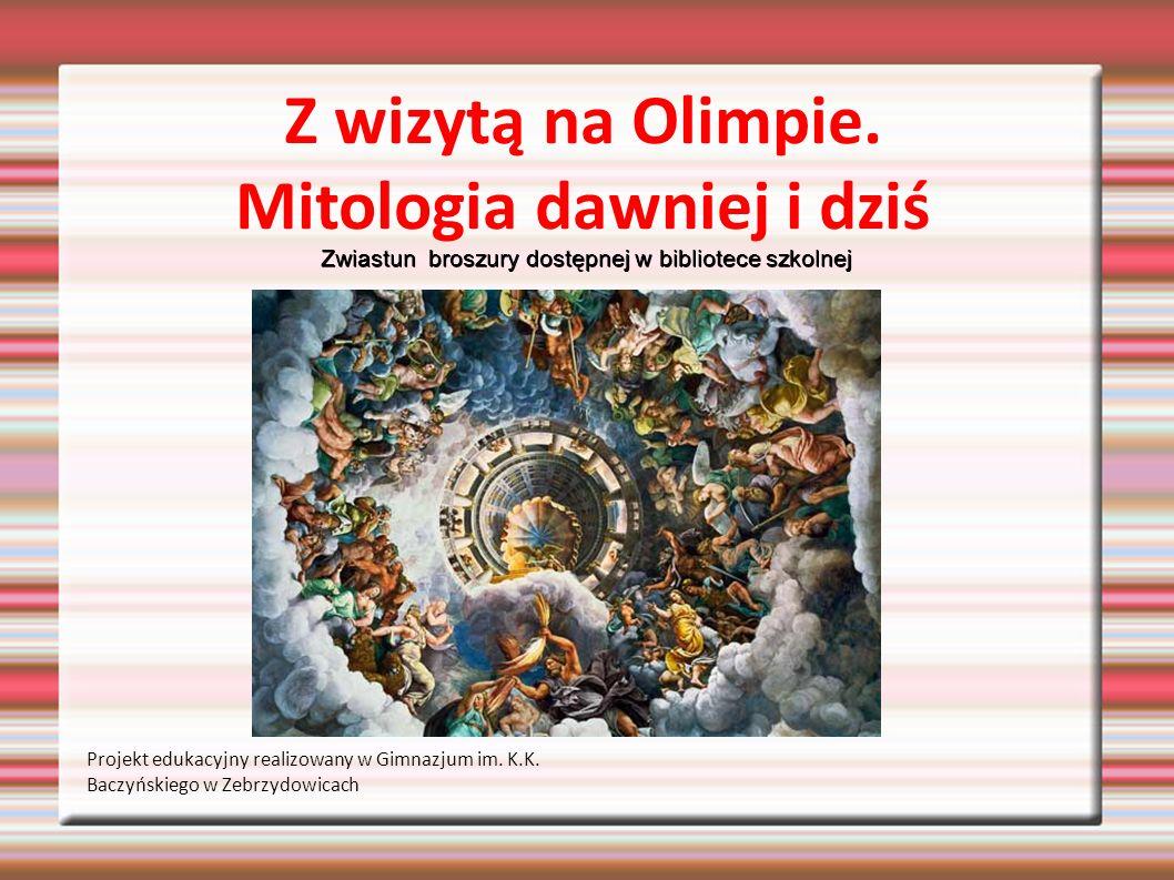 Z wizytą na Olimpie. Mitologia dawniej i dziś