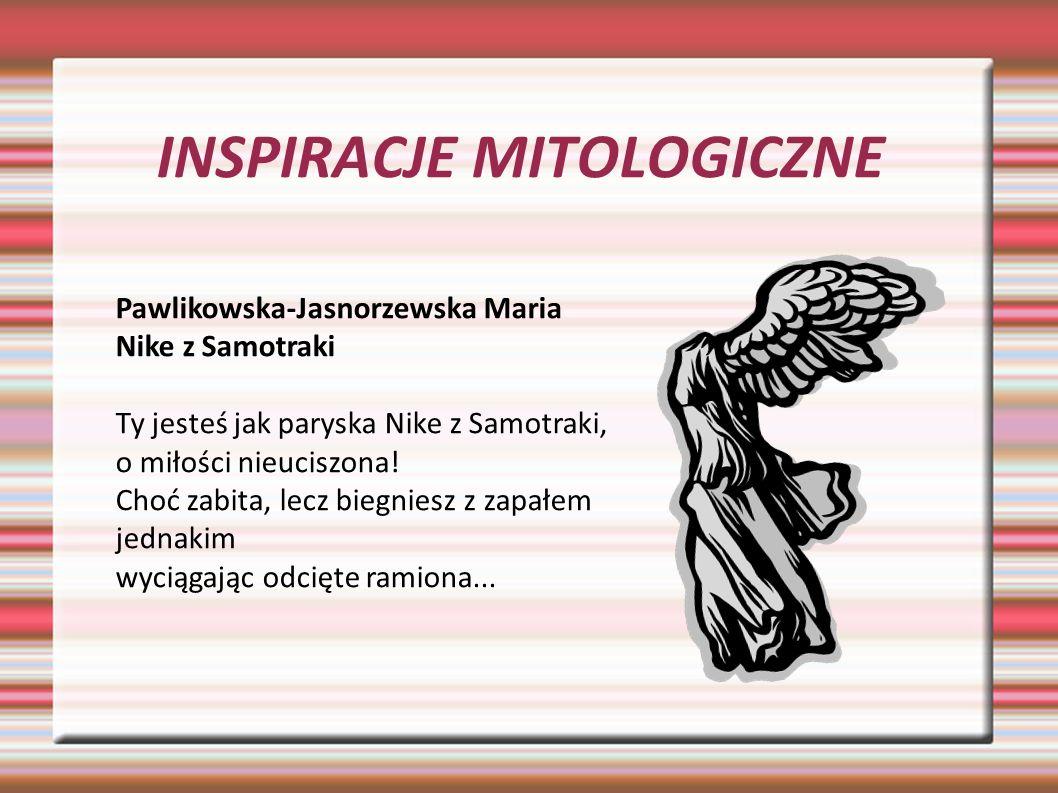 Inspiracje Mitologiczne