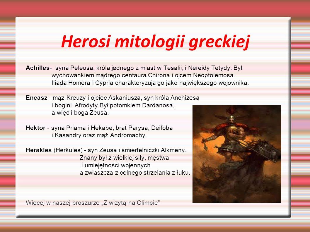 Herosi mitologii greckiej