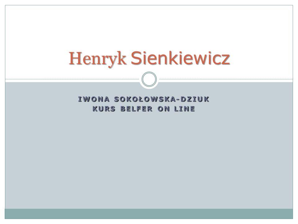 IWONA SOKOŁOWSKA-DZIUK KURS BELFER ON LINE