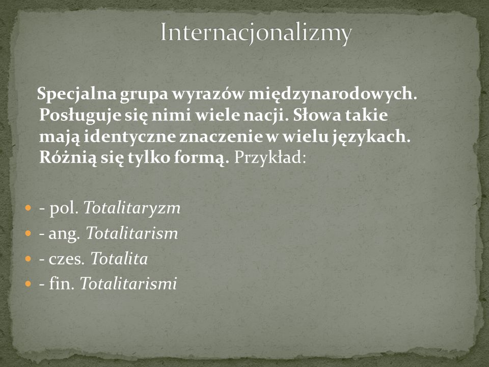 Internacjonalizmy