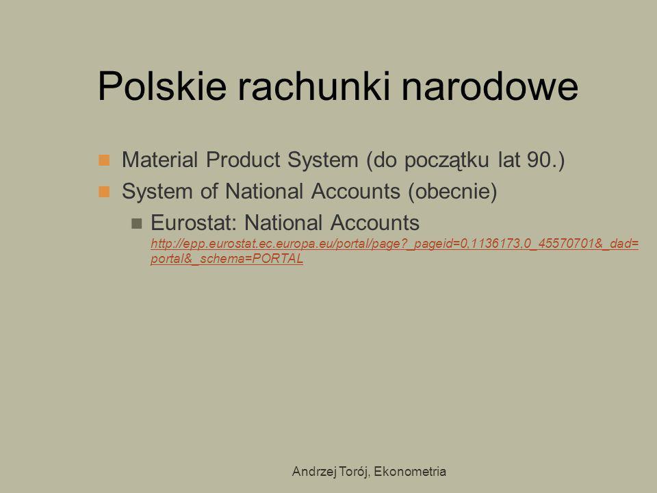 Polskie rachunki narodowe