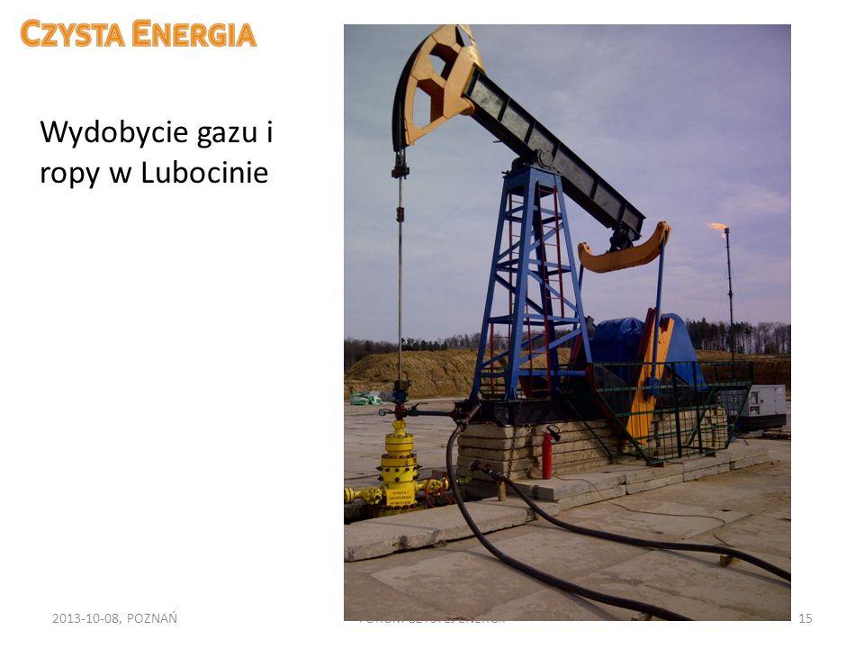 Wydobycie gazu i ropy w Lubocinie
