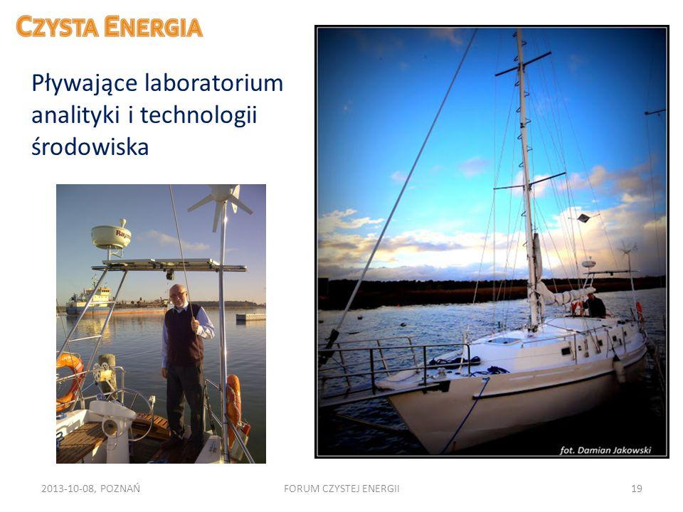 Pływające laboratorium analityki i technologii środowiska