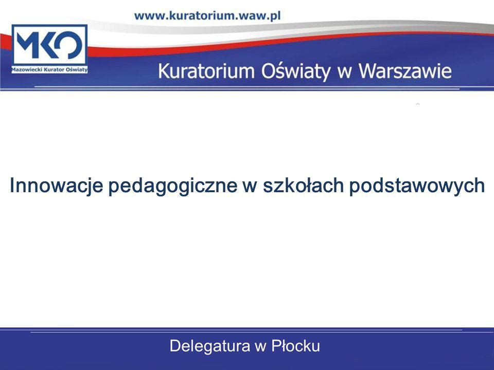 Innowacje pedagogiczne w szkołach podstawowych