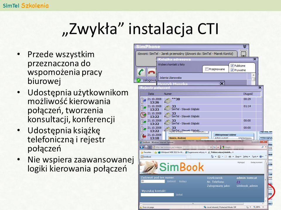 """""""Zwykła instalacja CTI"""
