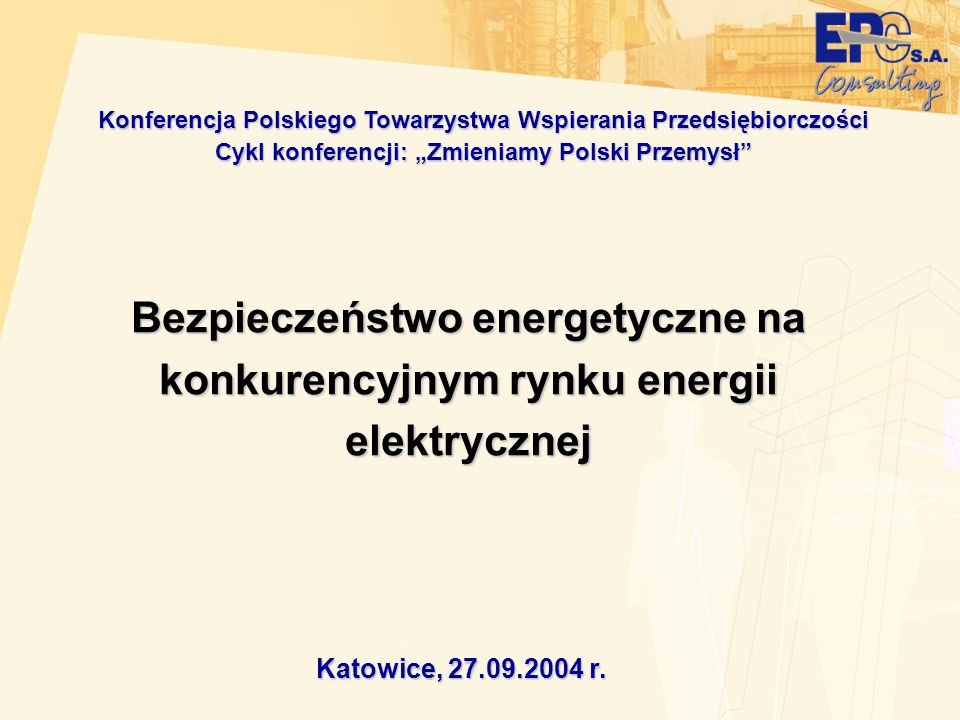 Konferencja Polskiego Towarzystwa Wspierania Przedsiębiorczości