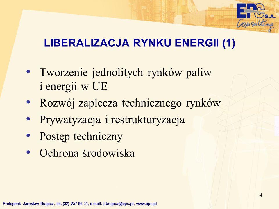 LIBERALIZACJA RYNKU ENERGII (1)