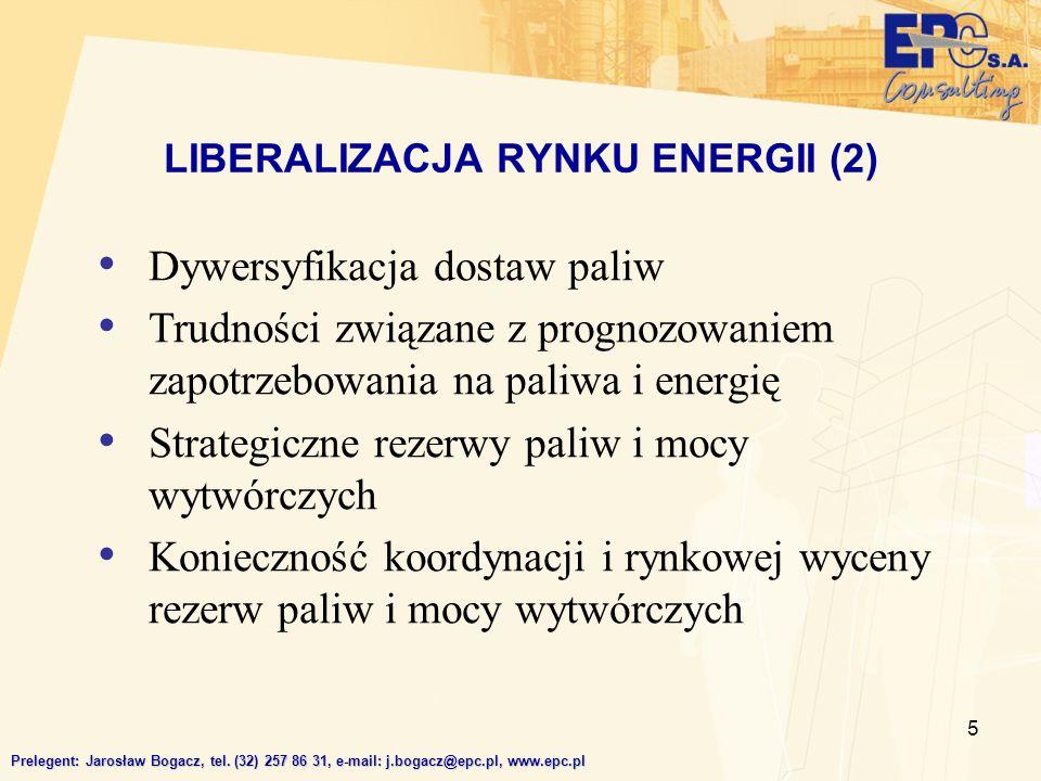 LIBERALIZACJA RYNKU ENERGII (2)