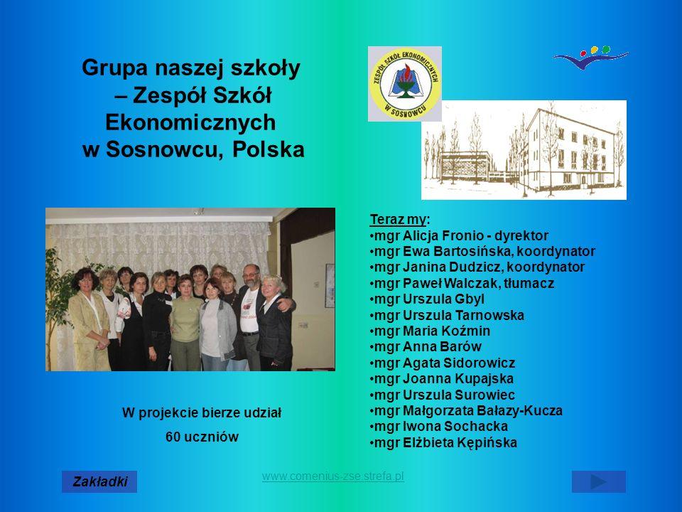 Grupa naszej szkoły – Zespół Szkół Ekonomicznych w Sosnowcu, Polska