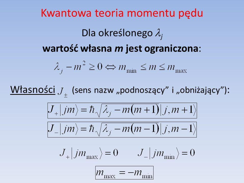 Kwantowa teoria momentu pędu