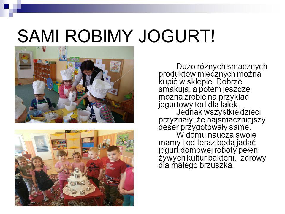 SAMI ROBIMY JOGURT!