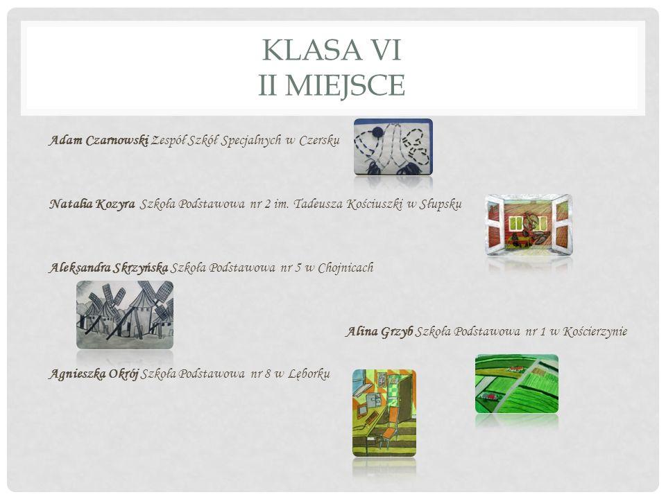 KLASA VI II MIEJSCE
