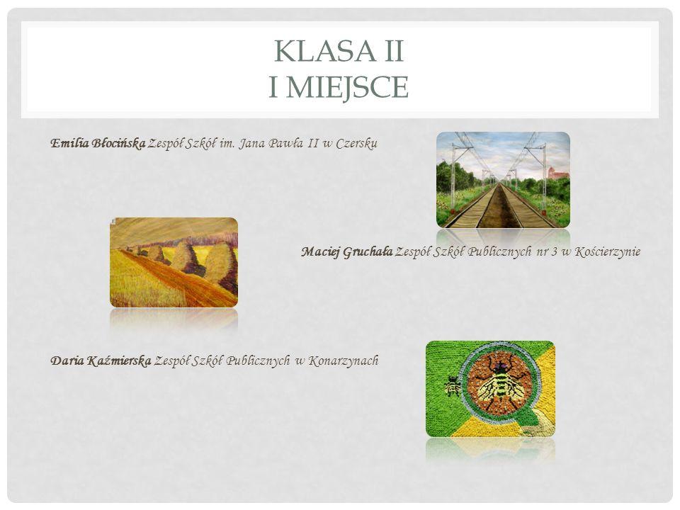 KLASA II I MIEJSCE