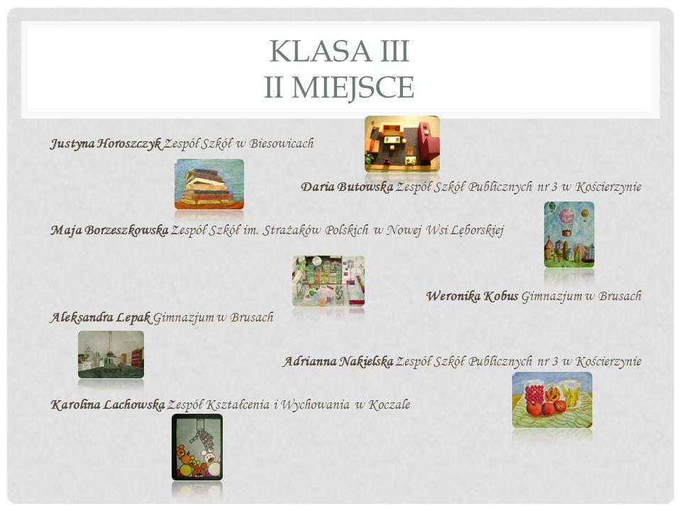 KLASA III II MIEJSCE