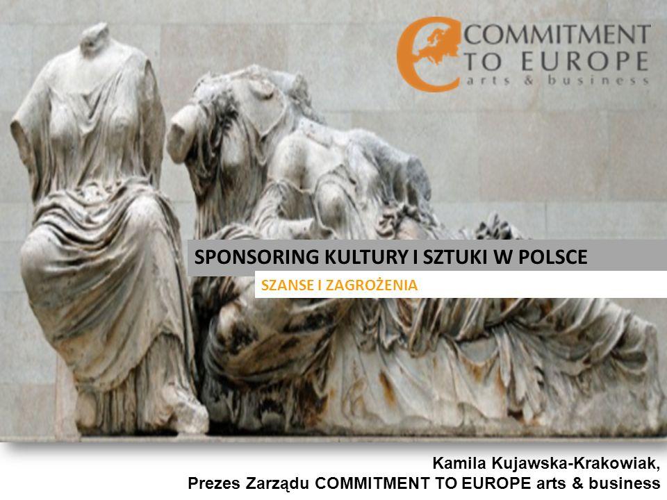 SPONSORING KULTURY I SZTUKI W POLSCE