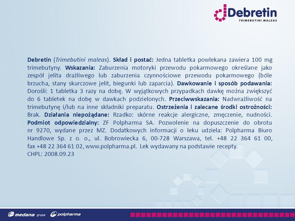 Debretin (Trimebutini maleas)