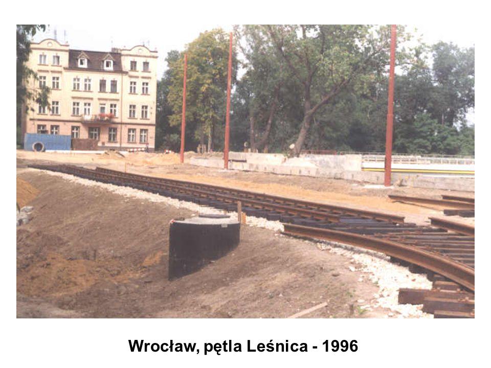 Wrocław, pętla Leśnica - 1996
