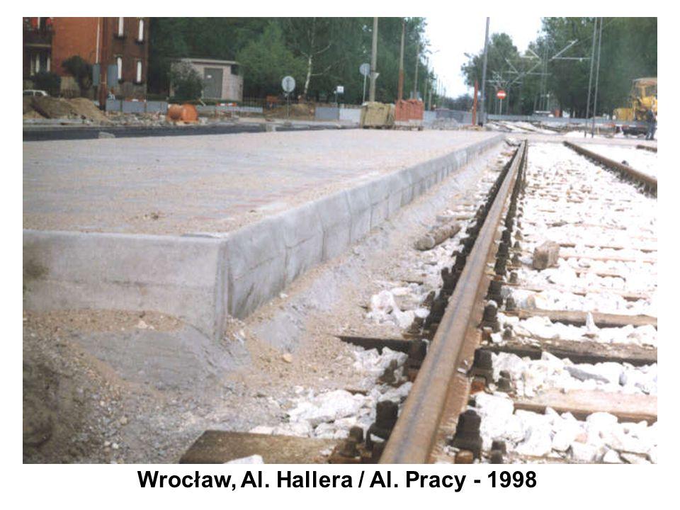 Wrocław, Al. Hallera / Al. Pracy - 1998