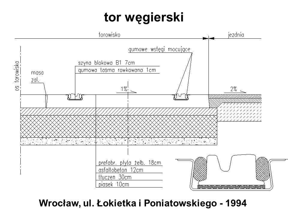 Wrocław, ul. Łokietka i Poniatowskiego - 1994