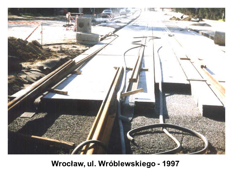 Wrocław, ul. Wróblewskiego - 1997