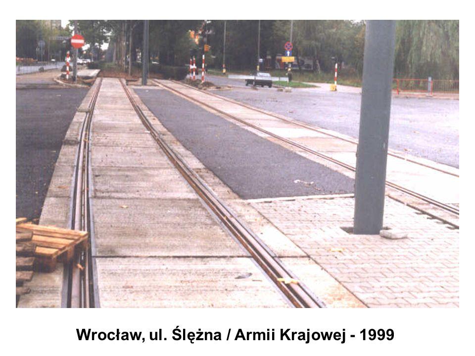 Wrocław, ul. Ślężna / Armii Krajowej - 1999