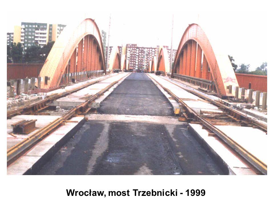 Wrocław, most Trzebnicki - 1999