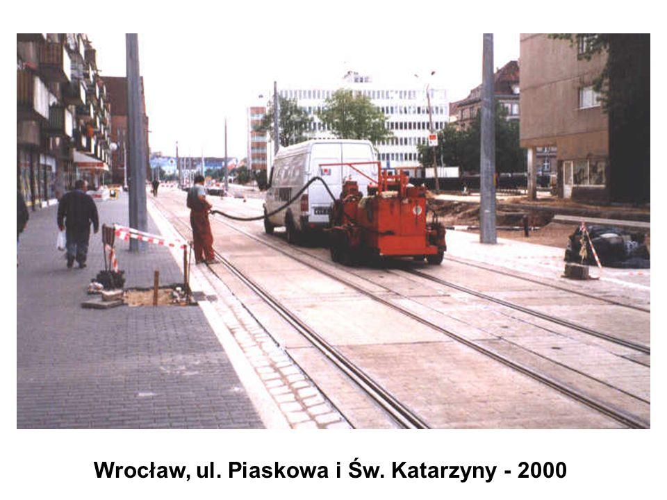 Wrocław, ul. Piaskowa i Św. Katarzyny - 2000
