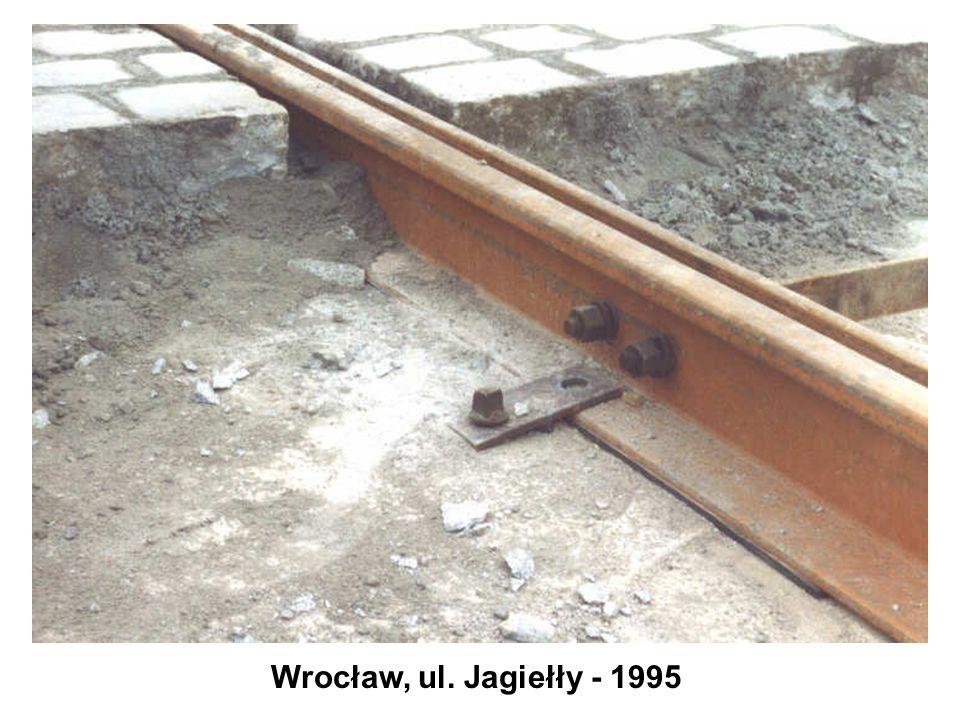 Wrocław, ul. Jagiełły - 1995
