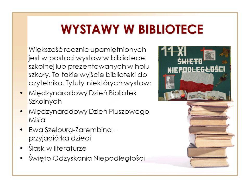 WYSTAWY W BIBLIOTECE