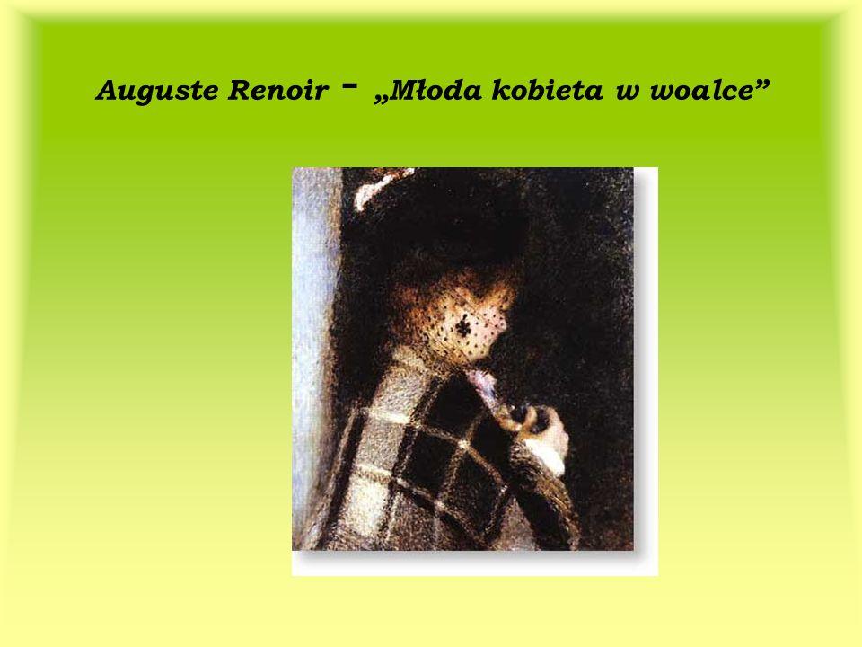 """Auguste Renoir - """"Młoda kobieta w woalce"""