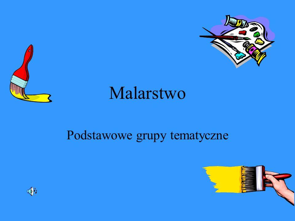 Podstawowe grupy tematyczne