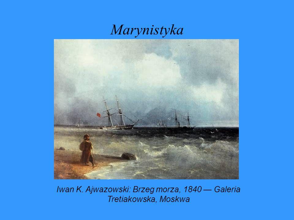 Iwan K. Ajwazowski: Brzeg morza, 1840 — Galeria Tretiakowska, Moskwa