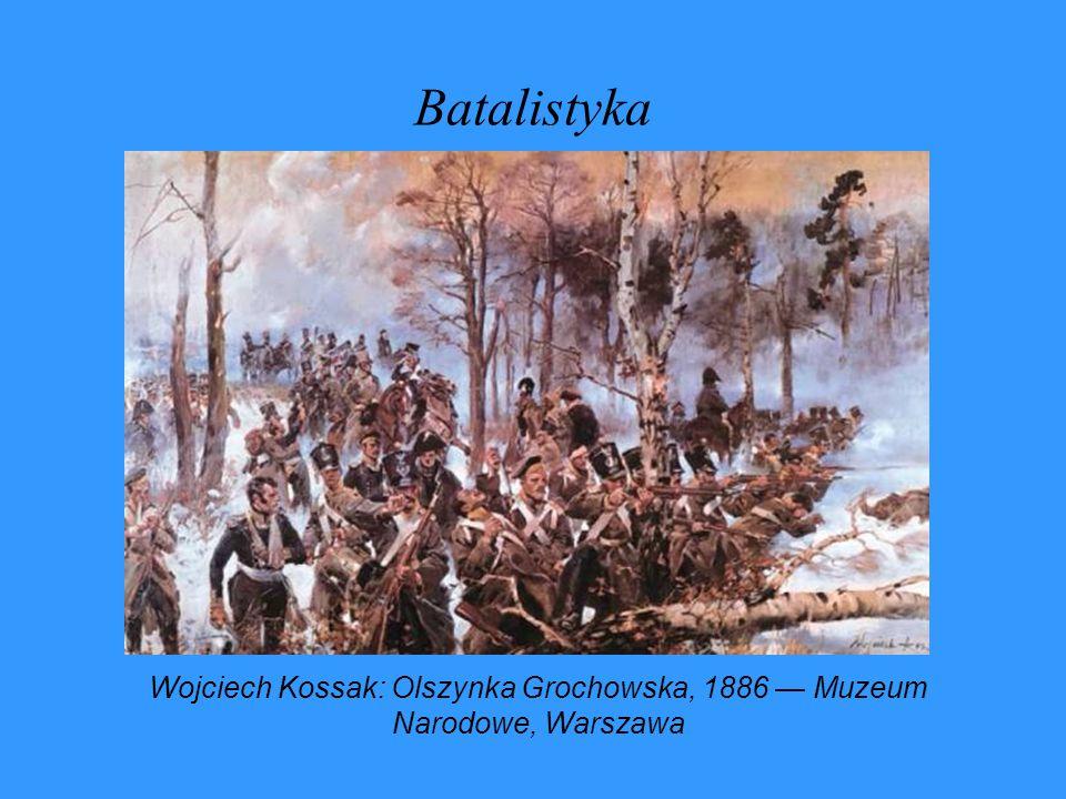 Wojciech Kossak: Olszynka Grochowska, 1886 — Muzeum Narodowe, Warszawa