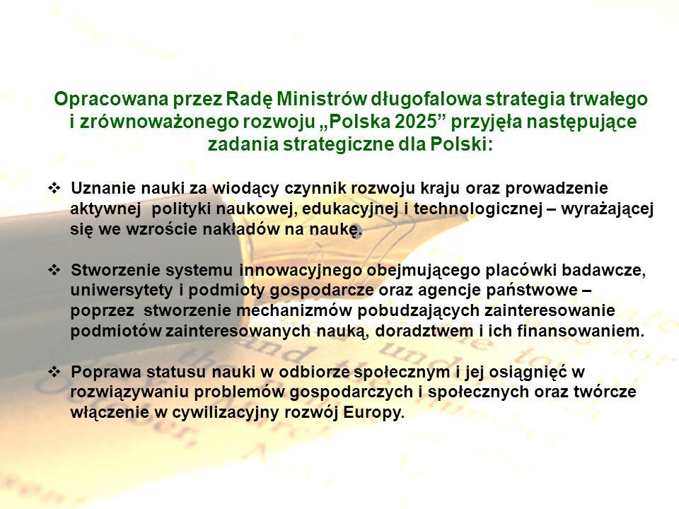 Opracowana przez Radę Ministrów długofalowa strategia trwałego