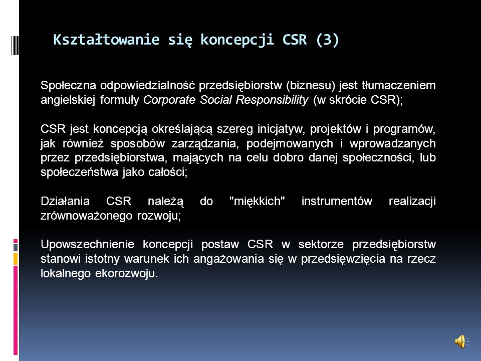 Kształtowanie się koncepcji CSR (3)