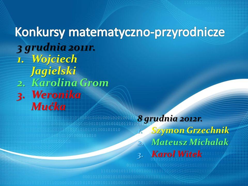 Konkursy matematyczno-przyrodnicze