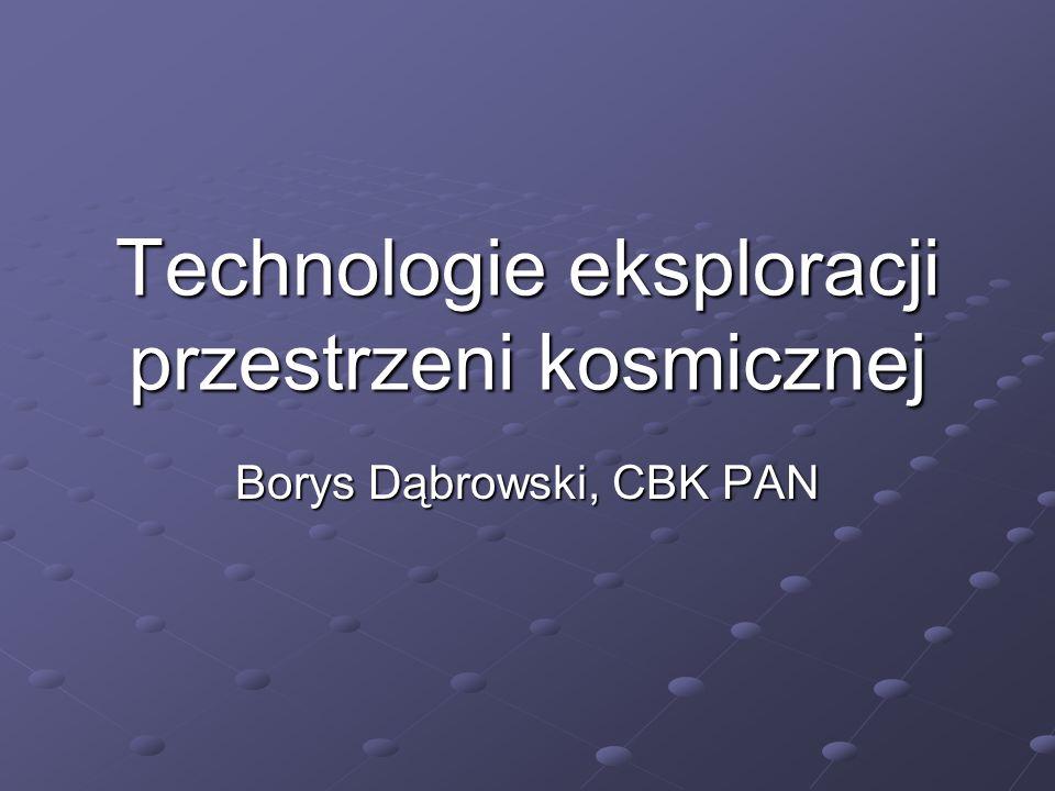 Technologie eksploracji przestrzeni kosmicznej