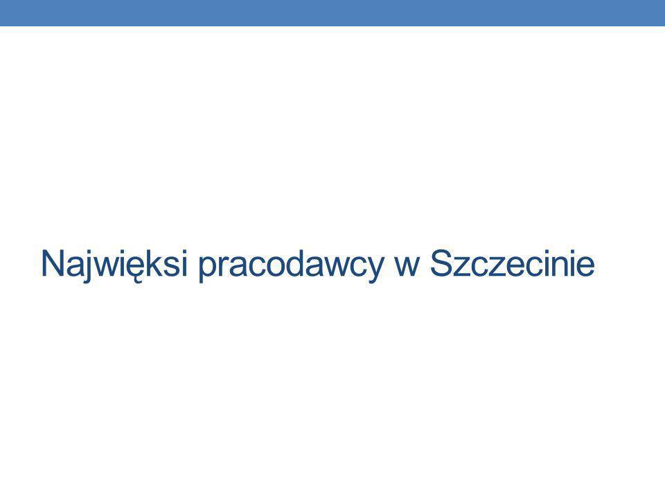 Najwięksi pracodawcy w Szczecinie
