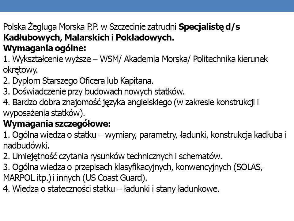 Polska Żegluga Morska P. P