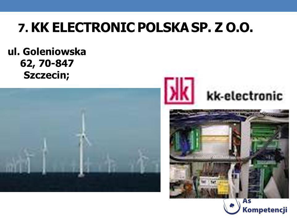 7. KK Electronic Polska Sp. z o.o.