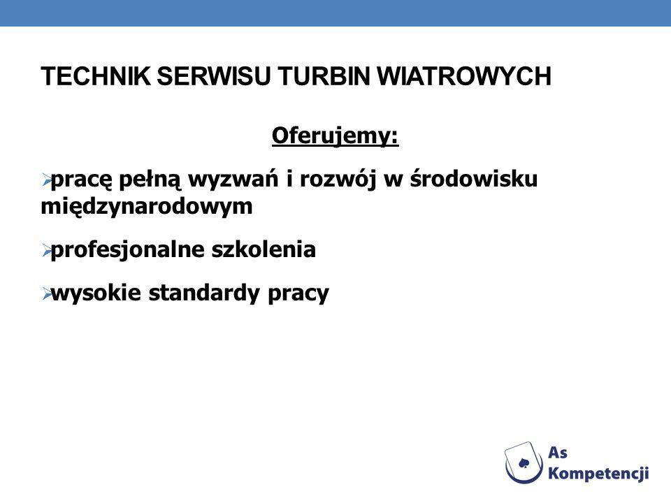 Technik Serwisu Turbin Wiatrowych