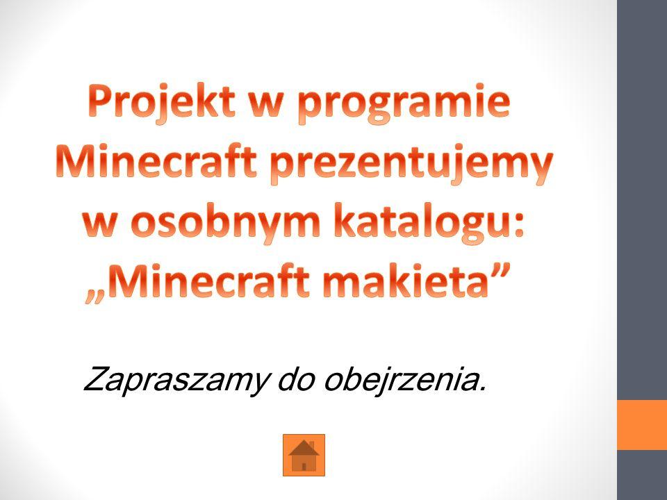 Minecraft prezentujemy