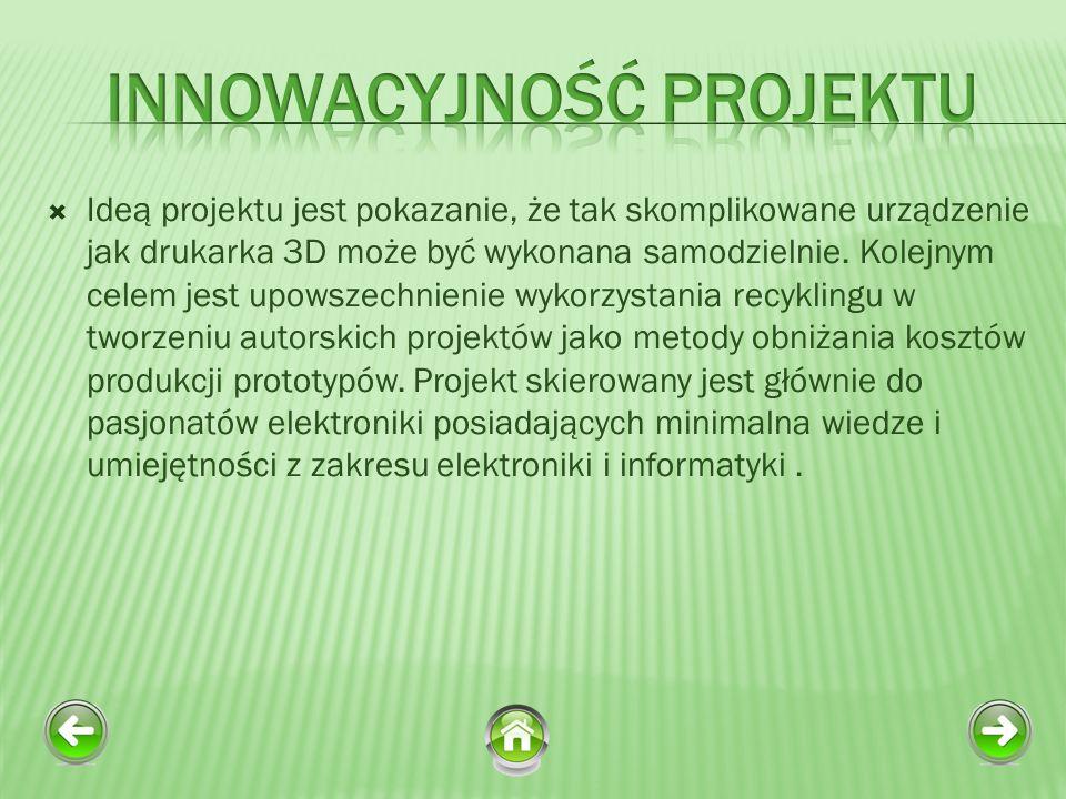 Innowacyjność Projektu