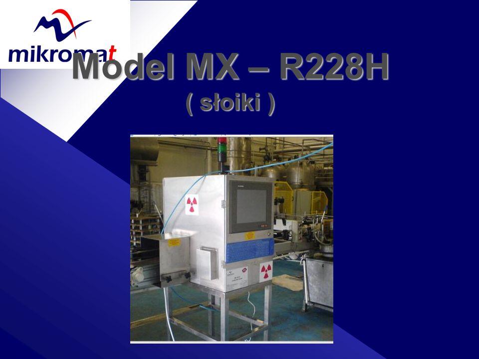 Model MX – R228H ( słoiki )