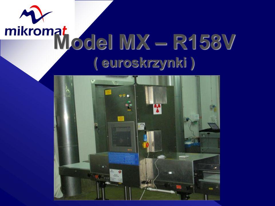 Model MX – R158V ( euroskrzynki )