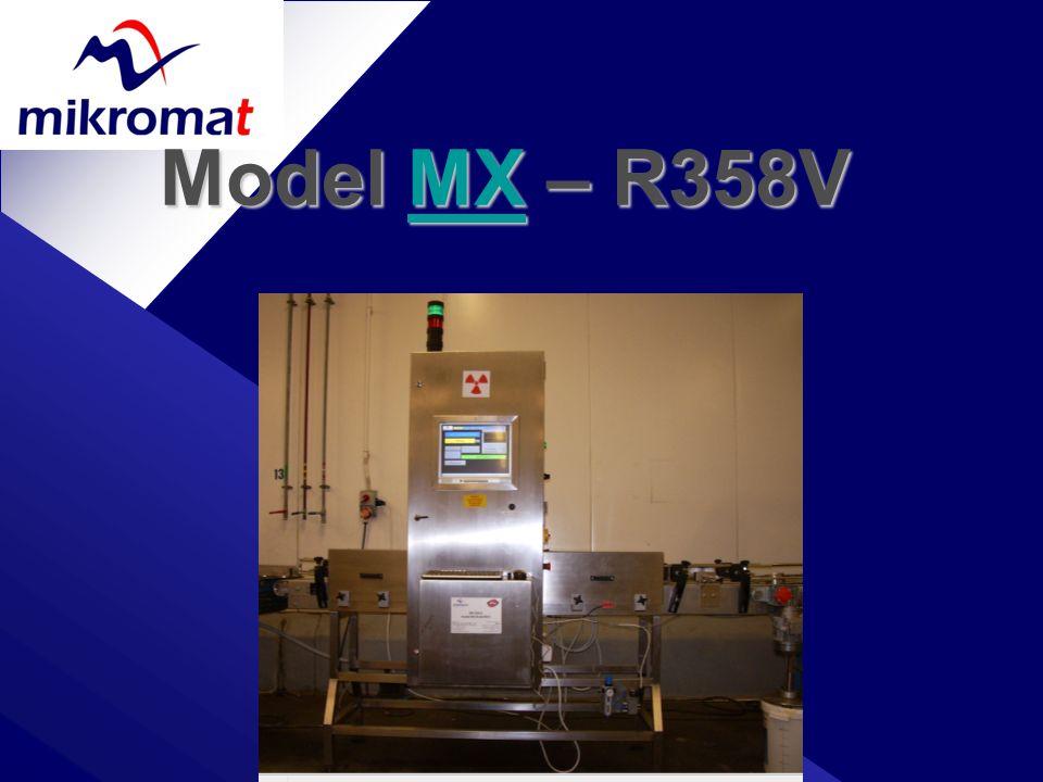 Model MX – R358V